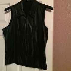 Absolutely love-100% leather 100% Leather Vest!!!  Gorgeous Wilsons Leather Jackets & Coats Vests