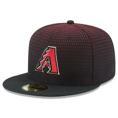 Men's New Era Black Arizona Diamondbacks Authentic Collection Alternate On Field 59FIFTY Hat