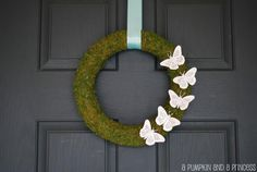 DIY Home Decor DIY Fall Crafts : DIY Spring Moss Wreath