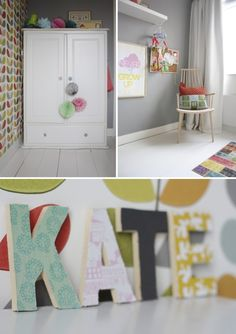 Inside Scoop: Colour Rules in a Dutch Family Home by Holly Marder for Decor8.