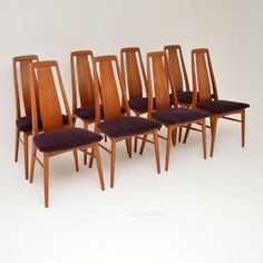 Antiques Atlas - Set Of Danish Teak Dining Chairs By Niels Koefoed