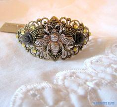 Bee Cuff Bracelet by Bridget Blue™ on Etsy, $24.95