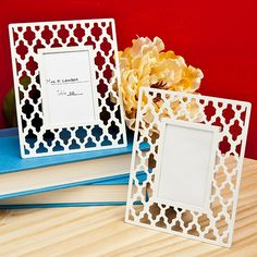 Simply Elegant Place Card Frames