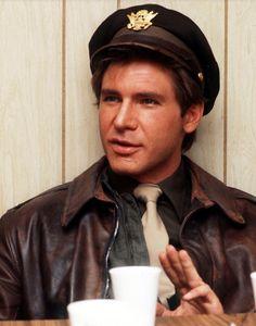 "Harrison Ford in ""Hanover Street"", (1979)."