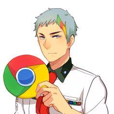 Firefox showing strange characters