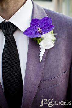 Greenhouse Wedding :: Bright and Bold :: JAGstudios Rose Wedding, Wedding Groom, Purple Wedding, Wedding Attire, Floral Wedding, Wedding Colors, Wedding Dreams, Wedding Things, Wedding Flowers