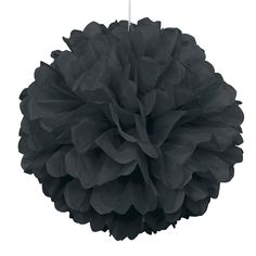 Un elegante pompón de papel, para decorar fiestas - de www.fiestafacil.com, 3,30€ / An elegant paper pompom for party decoration, from www.fiestafacil.com