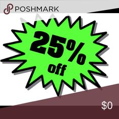 HOLD UP! I lied! 25% OFF!!! Even better! 25% off bundles! I must be crazzzy! Lol Other