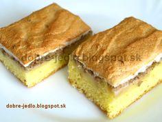 Jablkový koláč so snehom - recepty Tiramisu, Cupcake, Ethnic Recipes, Food, Basket, Cupcakes, Essen, Cupcake Cakes, Meals