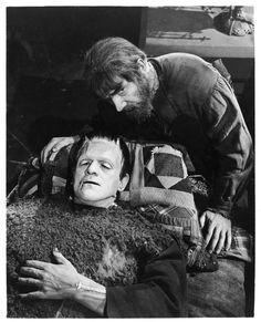 Karloff and Lugosi in Son of Frankenstein