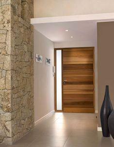 41 Best Ideas For Modern Wooden Entrance Door Wood Entry Doors, Entrance Doors, Wooden Doors, Wooden Sofa, Modern Exterior Doors, Modern Door, House Doors, House Entrance, Wooden Main Door Design