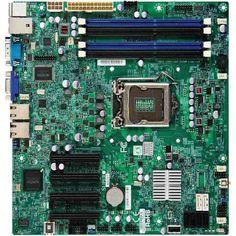 SUPERMICRO Alaplap MicroATX X9SCM-F