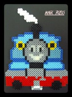 Thomas train hama perler