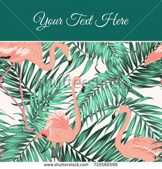 Tropical Poster Template  Tropical Posters Party Poster And
