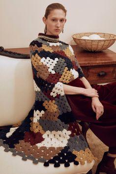 #Crochet Beauty at Fall 2016 Fashion Week - rosetta getty crochet dress fall 2016