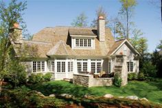 cottage+style+homes | cottage style house plan that replicates an older cottage style ...