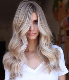 Such Beautiful Balayage With Blonde Hair Color Ideas 2019 Blonde Beauty, Hair Beauty, Biolage Hair, How To Lighten Hair, Fresh Hair, Balayage Hair, Bronde Haircolor, Blonde Color, Hair Highlights