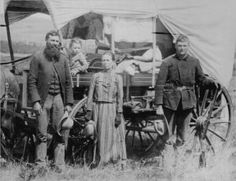 1886 pioneer family ~  God bless the people who struggled to make America the best nation in the world.
