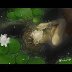 Lost in Turbidity (Personal Work) Digital Spitpaint Illustration Done using Clip Studio Paint Feeling so many things tonight. Speed Paint, Water Lilies, Digital Illustration, Lost, Sleep, Studio, Projects, Painting, Log Projects