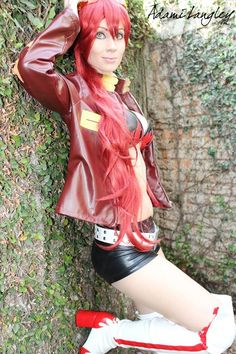 COSPLAYER: Adama Langley COUNTRY: Brazil CHARACTER: Yoko Littner SERIES: Gurren Lagann PHOTOGRAPHERS: Yagi Photography, Ronaldo Ichi and tennyo-chan SOME STARRING COSPLAYS: Jinx from League of Lege...