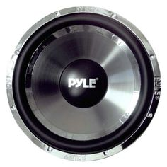 """PYLE PLCHW15 15-Inch 3600 Watt DVC Subwoofer by Pyle. $55.21. The Pyle Chopper series has been specially designed from the bottom up to provide quality sound in a sturdy form factor. This 15"""", 3600-watt subwoofer is chromed out with a titanium injected polypropylene cone for a great look as well as a great sound. The 2"""" high temperature dual Kapton voice coil and 70 oz. magnet structure provide a booming sound that is simply unrivaled. You'll have the best sou..."""