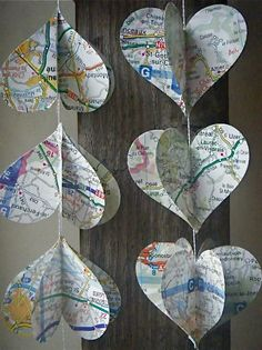 Heart Strings The French Road Trip Mobile by MaisyandAlice on Etsy, $15.00