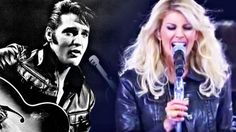 Leather-Clad Faith Hill Delivers Growling Tribute To Elvis