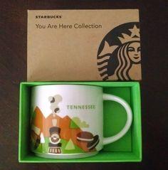 Starbucks Tennessee You Are Here Collector Mug Cup YAH NIB #Starbucks