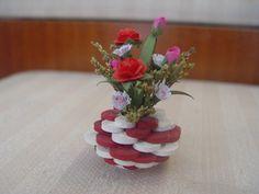 Цветочную вазу 3D рюш