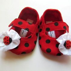 red baby sandals | red black polka dot baby shoes ladybug red black polka dot baby shoes ...