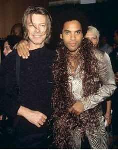 Bowie and Kravitz