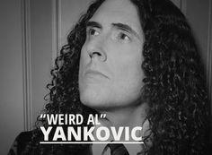 "Nice new site, Al! Ya damn fine human being, you.   The official website of ""Weird Al"" Yankovic. http://weirdal.com/"