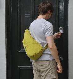 Textured Nylon Citron S | The Healthy Back Bag