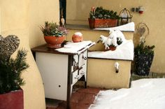 Schneefall Entryway Bench, Seasons, Storage, Furniture, Home Decor, Environment, Snow, Seasons Of The Year, Entry Bench