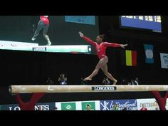 ▶ Simone Biles - Balance Beam - 2013 World Championships - Qualification - YouTube  love the choreo.  5th place after SUB 4