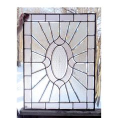 Materials Unlimited - G15008 - Antique Colonial Revival Textured and Beveled Glass Window, $975.00 (http://www.materialsunlimited.com/g15008-antique-colonial-revival-textured-and-beveled-glass-window/)