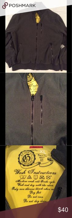 Gap men's athletic fleece jacket Used a few times GAP Jackets & Coats