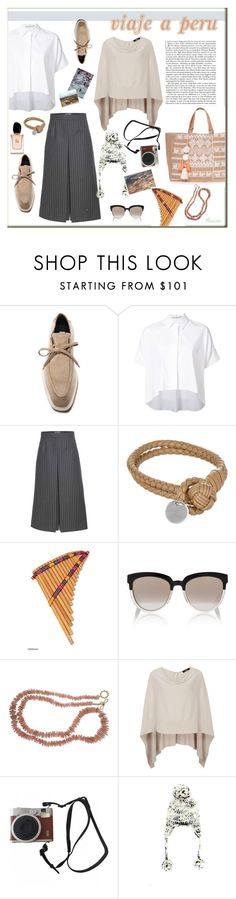 """De viaje por Peru"" by mussedechocolate ❤ liked on Polyvore featuring STELLA McCARTNEY, Alice + Olivia, Yves Saint Laurent, Bottega Veneta, Equipment, NOVICA, Christian Dior, Valentin Magro, Lonely Planet and Fuji"