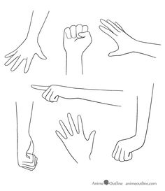 How to draw anime hands google search