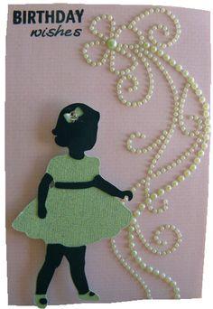 Birthday card for little girls Birthdays Girls and Little girls
