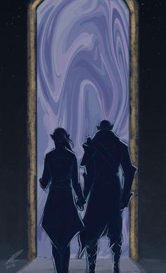 Eluvian by RoseTheHobbit | Solas and Lavellan romance, Solavellan, Dragon Age: Inquisition