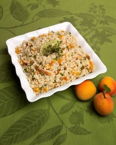 Try our fresh and fruity Apricot Chicken & Rice Salad, featuring our Texmati® Light Brown rice.