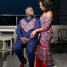 The Best Family Ankara Styles Mix Looking for the best ankara outfit that will be ok for your family? worry no more because we here at ANKARA XCLUSIVE gathered some lovely family collections of ankara styles. African Shirts, African Print Dresses, African Dresses For Women, African Wear, African Attire, African Fashion Dresses, African Women, Ankara Fashion, Couples African Outfits