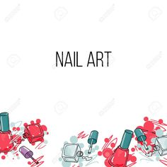Vector - vector nail lacquer bottlesand drops of nail polish on white background. beauty background border and place for your text Banana Crumb Muffins, Lash Room, Cinnamon Sugar Donuts, Sweet Potato Protein, Overnight Blueberry French Toast, Beauty Background, Good Day Song, Beauty Hacks Video, Hand Illustration