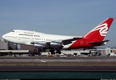 VH-EAA Australia Asia Airlines Boeing 747SP-38 photographed at Los Angeles International (LAX / KLAX) by Carsten Bodenburg