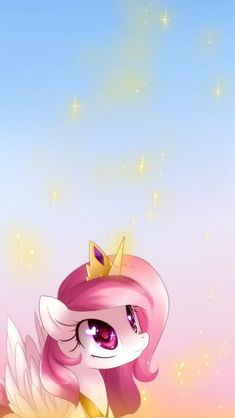 MLP: Young Celestia Wallpaper