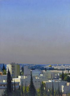 Jerusalem from Mount of Olives, 1