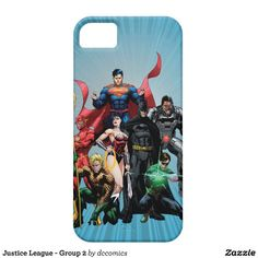 Justice League - Group 2 iPhone 5 Cases...$44.95