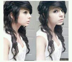 Adorable hair <3 #scene #loveit