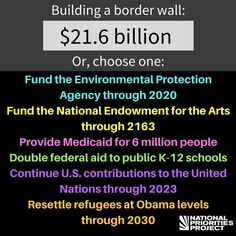 A leaked Department of Homeland Security internal report recently put the cost of President Trump's border wall at $21.6 billion.